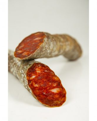 "Cereal-Fed Iberian ""Cular"" Hard Pork Sausage"
