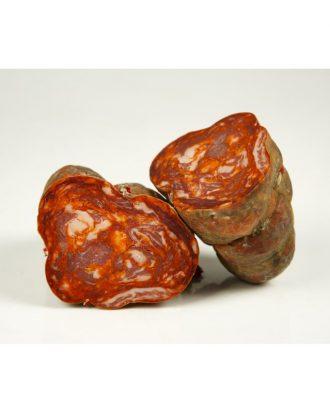 "Acorn-Fed Iberian ""Morcón"" Sausage"