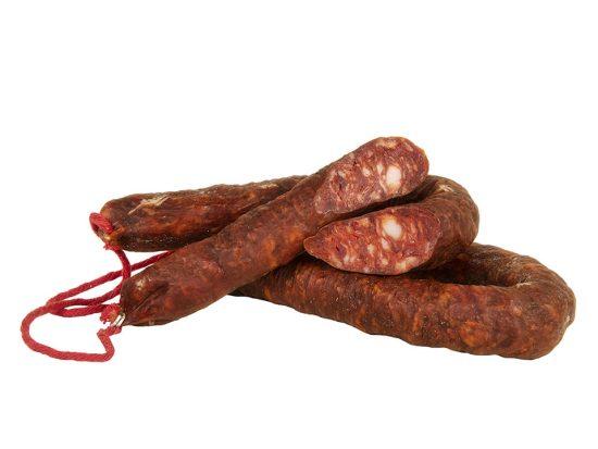 Chorizo Sarta Ibérica Picante de Embutidos Ballesteros
