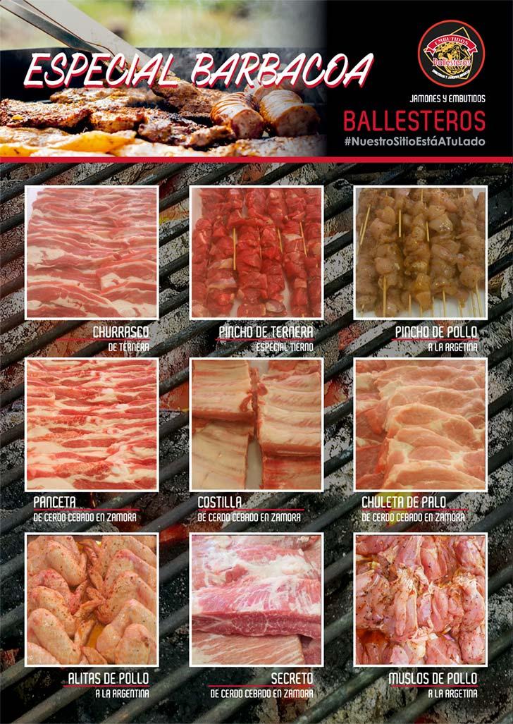 Especial barbacoa Embutidos Ballesteros
