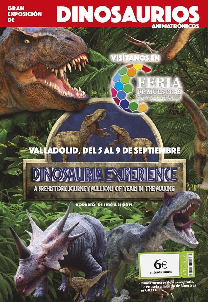 Dinosaurios en la 84ª Feria de Muestras de Valladolid