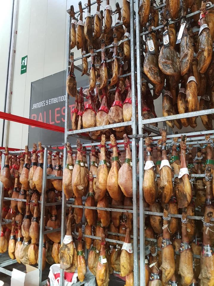 Desayunando en la Feria de Zaragoza