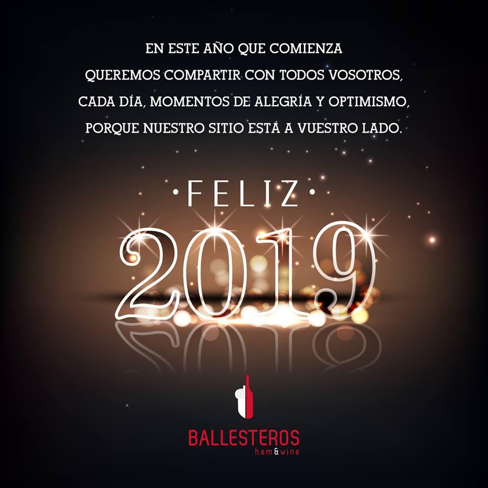 ¡Feliz Año 2019!