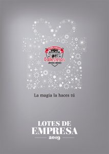 Portada del Catálogo de Lotes de Empresa de Embutidos Ballesteros 2020